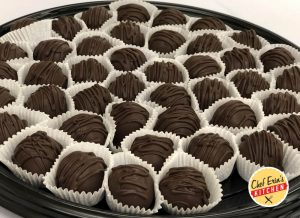 dark chocolate mocha truffles