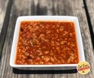 salsa and sausage chili
