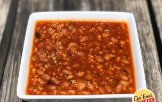 salsa and sausage chili