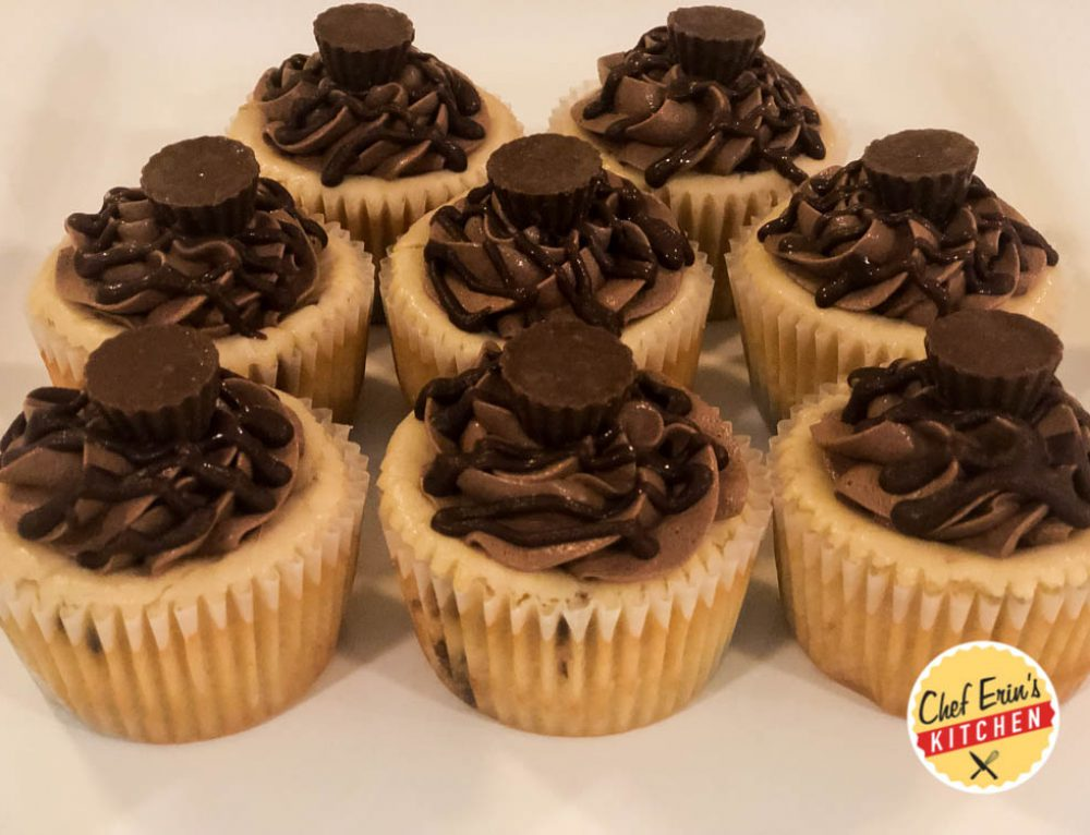 Peanut Butter Cup Cheesecake Tarts