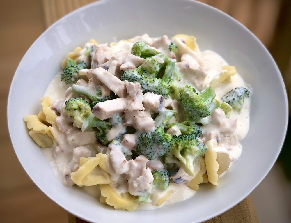 Chicken and Broccoli Tortellini