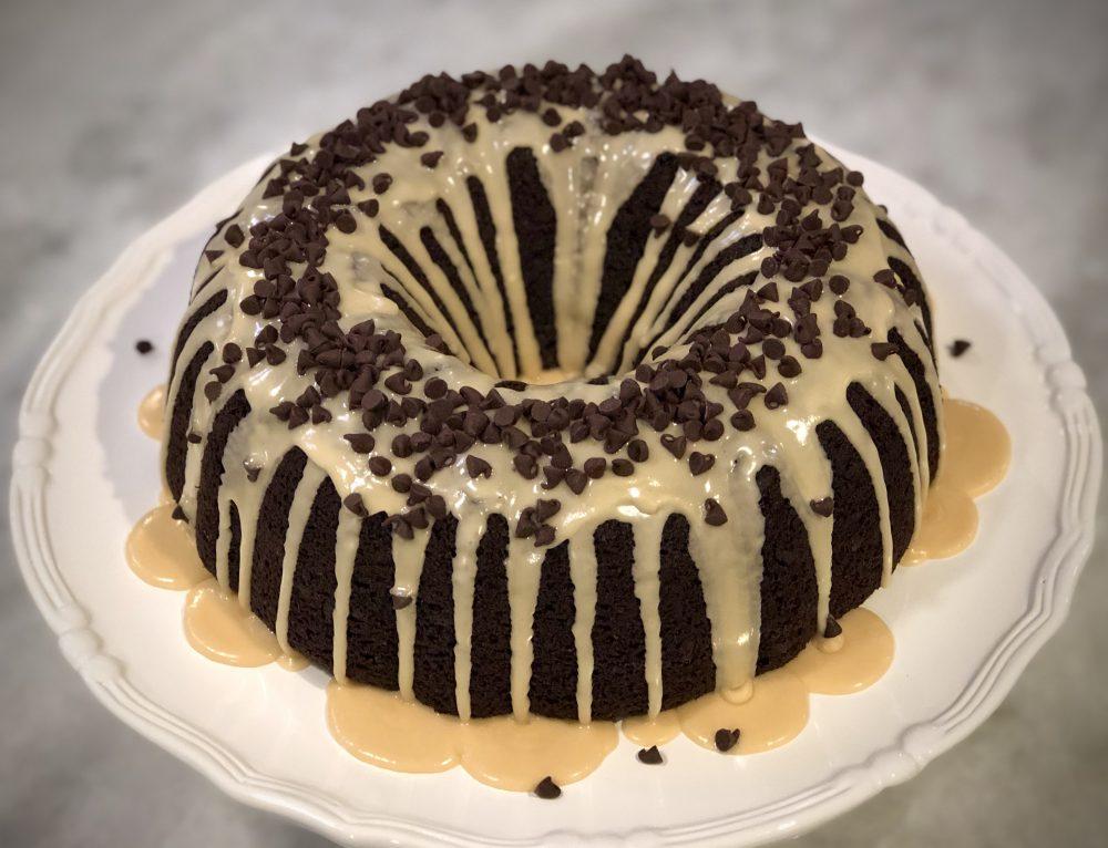 Chocolate Irish Cream Bundt Cake