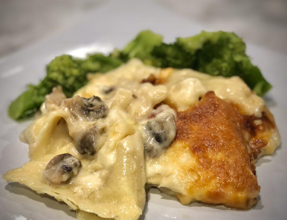 Marsala Chicken Ravioli