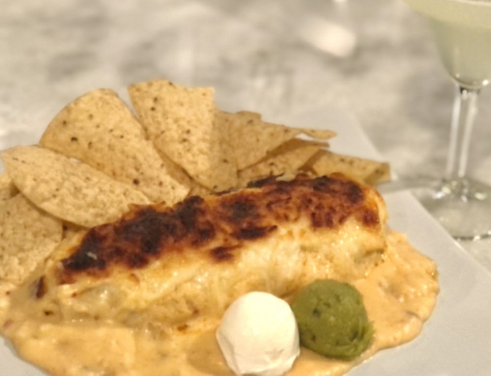 Fajita Wraps with Queso Sauce