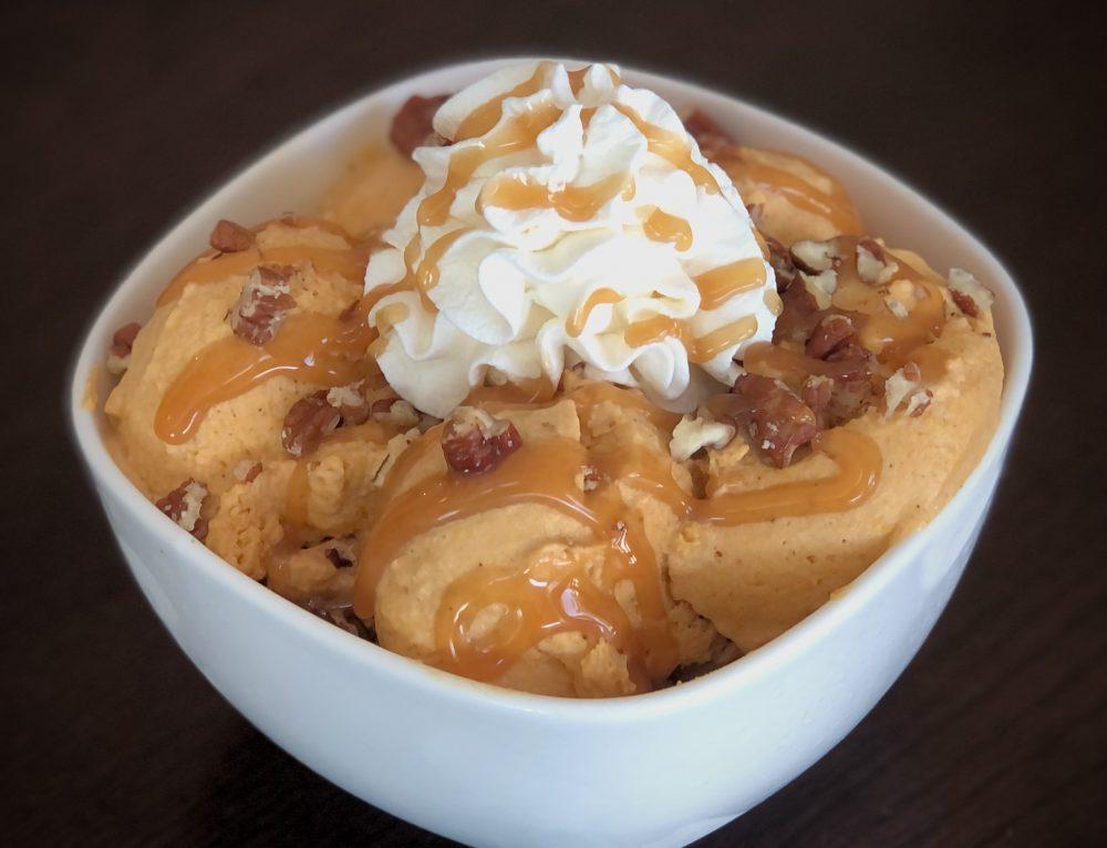 No-Churn Pumpkin Spice Ice Cream